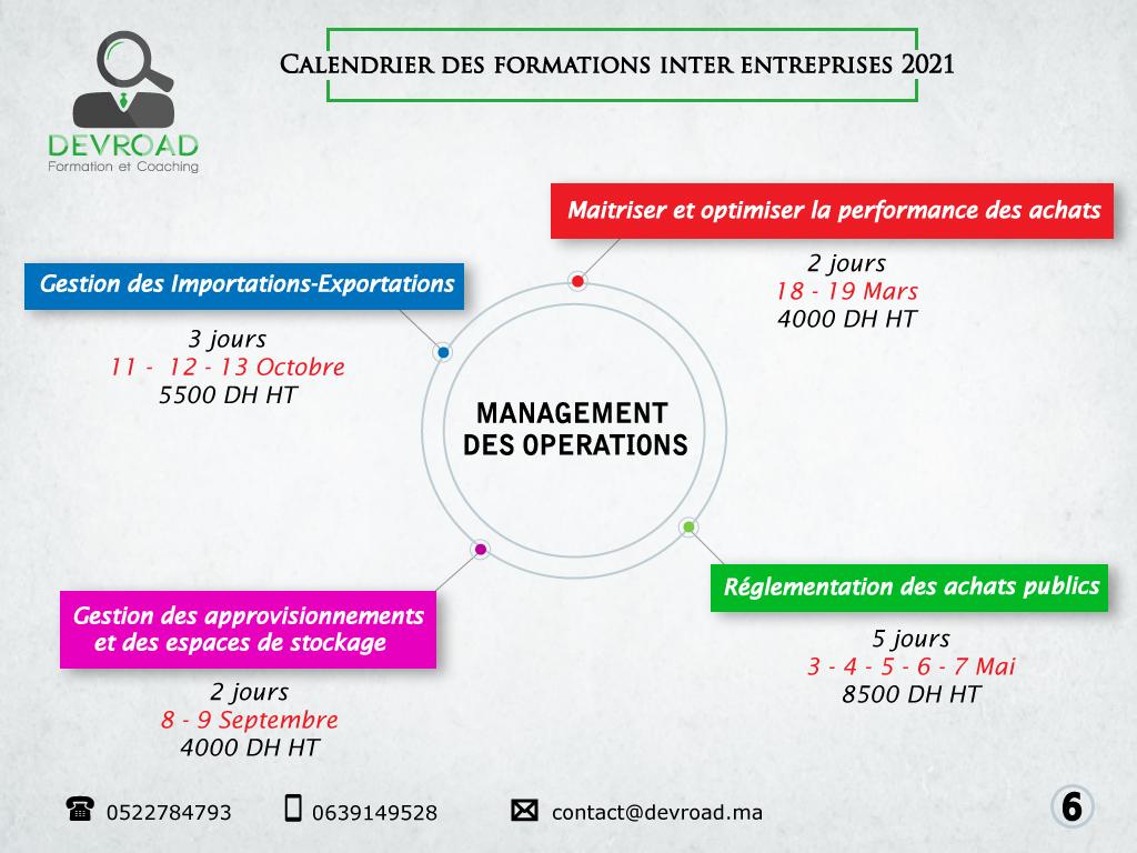 Management des opérations